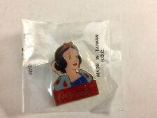 Disney Coca Cola Snow White Collectible Pin New Sealed Package