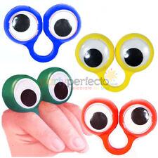 6 Googley Eye Rings - Pinata Toy Loot/Party Bag Fillers Wedding/Kids Puppet
