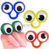 6 Googley Eye Rings - Pinata Toy Loot/Party Bag Fillers Wedding/Kids Puppet