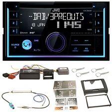 JVC KW-DB93BT USB MP3 DAB+ Bluetooth CD Einbauset für Audi TT 8J