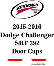3M Scotchgard Paint Protection Film Pre-Cut 2015 2016 Dodge Challenger SRT 392