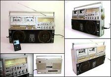 SHARP GF-515 4 Band Radio Double Cassette Ghettoblaster Big Boombox