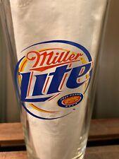 2003 Harley Davidson 100th Anniversary Miller Lite Pint 16oz Beer Glass Mint