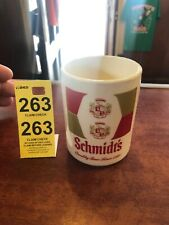 Vintage Schmidt Beer Ceramic Mug Cup The Brew that Grew with the Great Quality