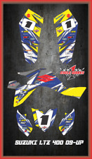 Suzuki LTZ 400 09 and newer ATV sticker kit Semi Custom Service DETOX3