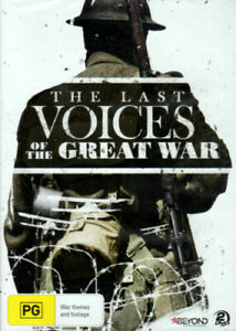 Last Voices Of The Great War (DVD, 2015, 2-Disc Set)--free postage
