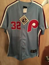 Steve Carlton Phillies Jersey Majestic Cooperstown Collection Size Large