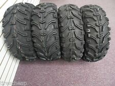 2004-2014 HONDA RANCHER 400 BEAR CLAW 6PLY ATV TIRES NEW SET 4  24X8-12 24X10-11