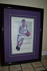 BOBBY HURLEY #'d/75 Signed/AUTOGRAPH Sac Kings DUKE Auto March Madness RARE ART