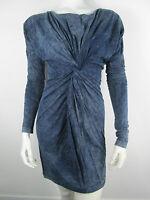 322a059e NEU DIESEL Damen Blau Denim Stretch Jumpsuit Offen Jogg Overall ...