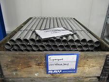 1x 1m tubo in acciaio con manicotto in 48 mm sezione trasversale, tubo tubo di scarico tubo di ricambio