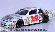 #29 JEFF GREENE CARTON NETWORK NASCAR Slixx #1257 1/24th - 1/25th Scale Decals