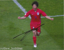Manchester United Park Ji-Sung Autographed Signed 8x10 Photo COA