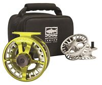 Lamson Remix 9+ Fly Reel - 3-Pack Color Sublime - NEW