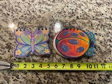 New Listinglot Of 2 Tri Coastal Butterflyladybug Spiral Hardback Lined Notebook Journal