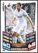 Michu Swansea City AFC #280 Topps Match Attax Football 2012-13 Trade Card (C440)