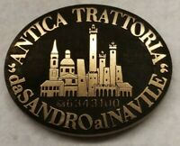 Antica Trattoria Bronze Paperweight by Sandro the Navile ITALY Calor Press