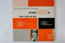 Richard Tauber in Oper Lied Arie Panis Angelicus Agnus Dei Die Uhr  (LP20)