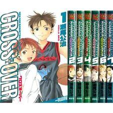 Manga CROSS + OVER VOL.1-7 Comics Complete Set Japan Comic F/S