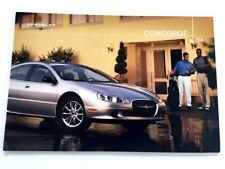 2004 Chrysler Concorde 20-page Original Sales Brochure Catalog