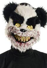 Scary Zombie Killer Bear Mask Furry Halloween Charles Fancy Dress Costume NEW