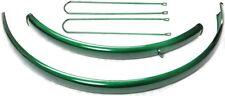 tôles de protection plastique vert métallique pour 28 pouces