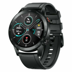 BRAND NEW* Honor MagicWatch 2 46mm Stainless Steel Band, Black Activity Tracker