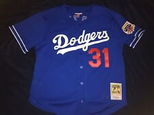 Los Angeles Dodgers Authentic Throwback Jersey Size L (44) Mitchell & Ness