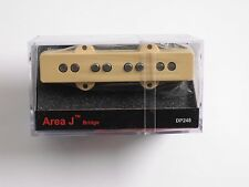 DiMarzio Area J Bass BRIDGE Creme DP 248 LONG (SLIGHTLY WIDER IN WIDTH SIZE)