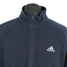 Vintage ADIDAS EQUIPMENT 1/2 Zip Fleece Sweatshirt | Retro Jumper Sweater 1/4