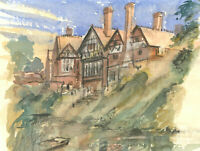 C. H. Thompson - 2006 Watercolour, View of Grimsdyke Hotel