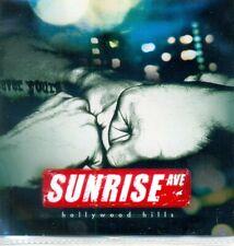 SUNRISE AVE - Hollywood hills 1TR DUTCH ACETATE PROMO CD 2011 / POP ROCK / RARE!