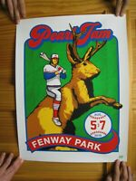 Pearl Jam Poster Fenway Park August 5 and 7th 2016 Silk Screen