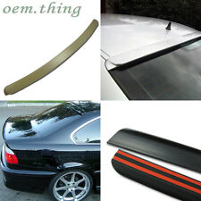 PAINTED 3-SERIES BMW E46 4DR A TYPE ROOF + TRUNK LIP SPOILER 318i 328i 323i