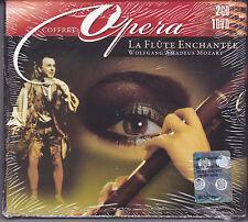 2 CD + 1 Dvd Box Cofanetto COFFRET ♫ MOZART ♫ LA FLUTE ENCHANTEE nuovo opera