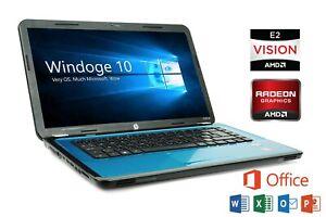 "Cheap Laptop HP AMD 500GB RAM 6GB RAM 15.6"" Screen Radeon HD 6380G"