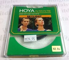 Hoya 62mm Skylight Coated Glass Lens Filter Screw-in 62 mm Sky light Genuine OEM