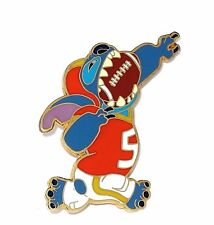 LE 250 Disney Pin✿Costume Stitch Super Bowl Football Uniform Helmet Touchdown LE