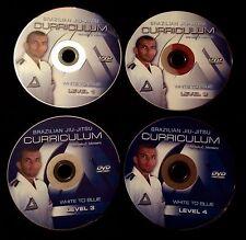 Brazilian Jiu Jitsu DVD Curriculum - White to Blue Belt