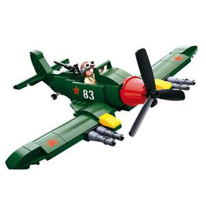 WW 2 Fighter Plane  : Sluban Blocks Model/Kit Toy