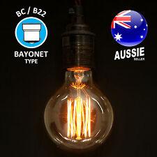 40W MINI ORB G80 filament light bulb BC B22 EDISON vintage style globe