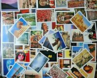 LOT OF 50 + U.S.A AND FOREIGN PICTURE CARDS , GREAT FOR HOMESCHOOLING , FAST 📫