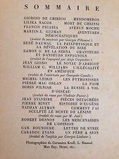 LEIRIS-DESNOS-DAUMAL-KRULL-MAN RAY /BIFUR 2 / EO 1929