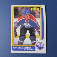 MARK MESSIER 1986-87 O-Pee-Chee # 186  OPC  Edmonton Oilers  NM/MT 1987    86-87