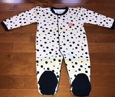 NCAA Licensed Auburn University Infant Baby Girl Footed Sleeper New 12 Months