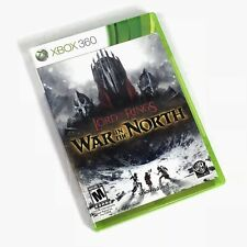 Lord of The Rings War in the North XBOX 360 Game Disk Case Manual Vintage A22-21