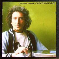 Giacomo Fusari - Che Cosa Guardi - Rockvolution - RKV002 - Italy - CD CD003044