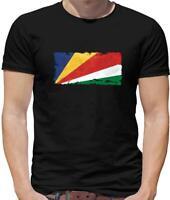 Seychelles Flag Mens T-Shirt - Victoria - Flags - Country - Island