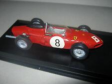 1:43 Ferrari 156 60 R. Rodriguez 1961 Monza GP Modelcar handbuilt in showcase
