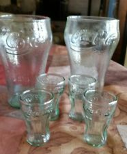 Coca cola collectibles drinking glasses